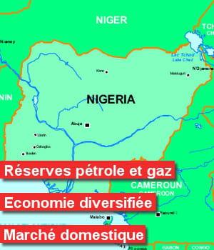 entre 2003 et 2011, 18,2% des projets d'ide au nigéria concernaient le secteur