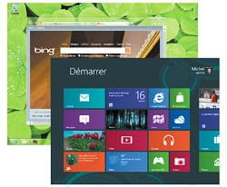 windows 8 : deux interfaces dans un seul système.