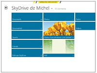 l'application windows 8 skydrive.